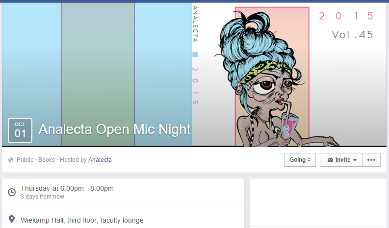 Analecta Open Mic
